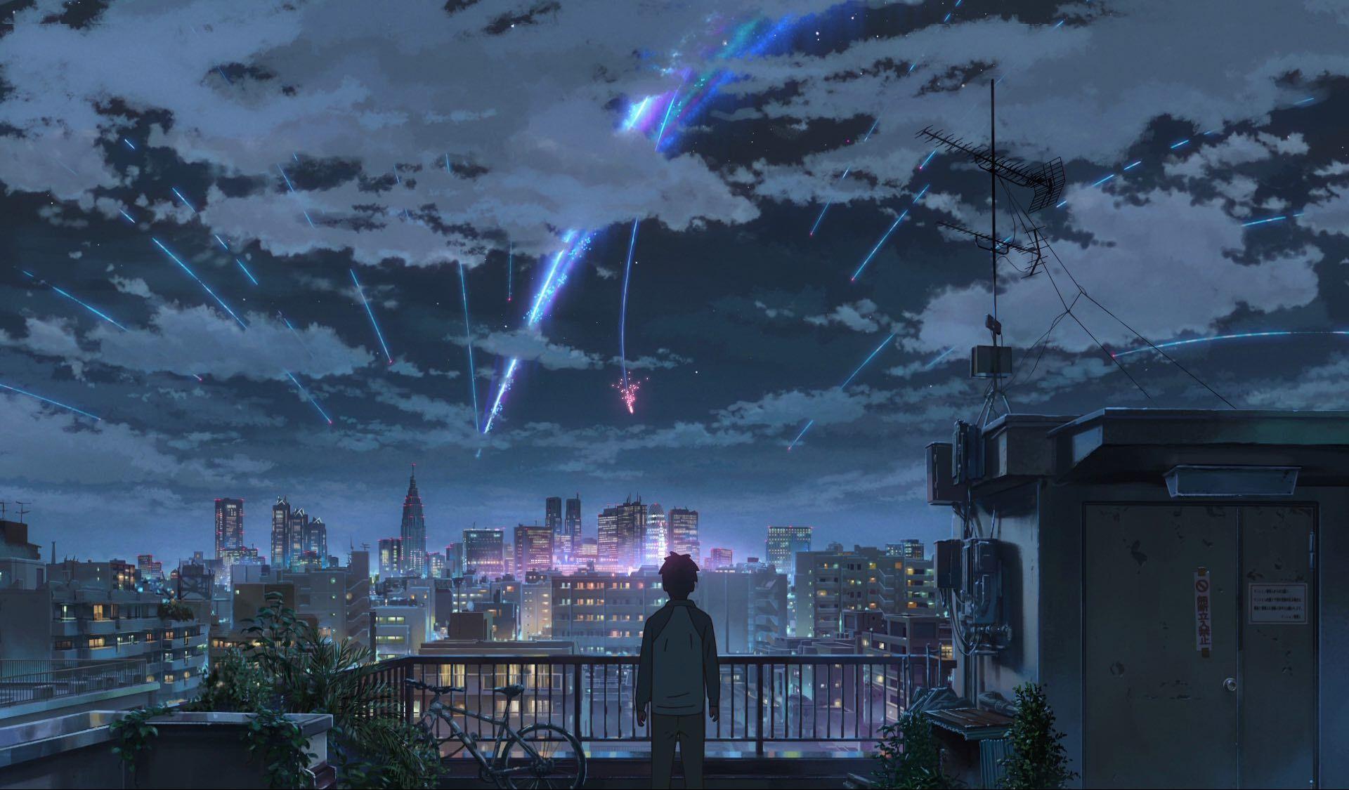 Your Name 100 Original Background Collection Kimi No Na Wa Wallpaper Kimi No Na Wa Your Name Anime