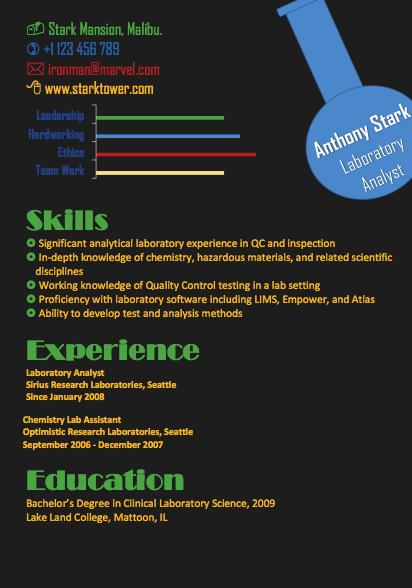 the best resume format 2015 infographics vs formal resume