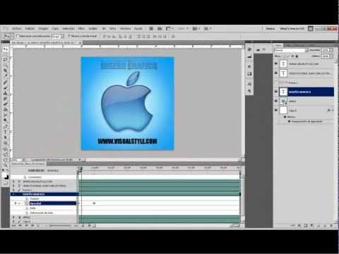 Como Crear Un Gif Animado Con Photoshop Cs5 Avi Gif Animados Photoshop Gif