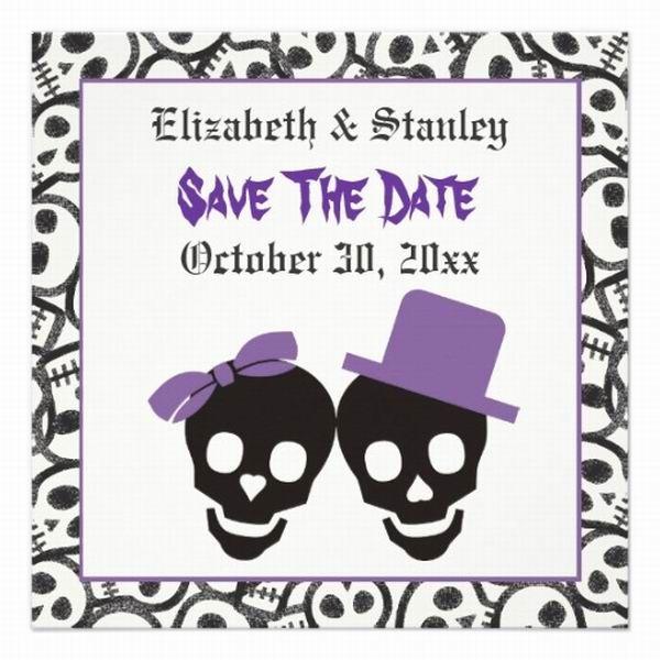 5 Whimsical Spooky Halloween Wedding Ideas for Autumn – Halloween Wedding Save the Dates