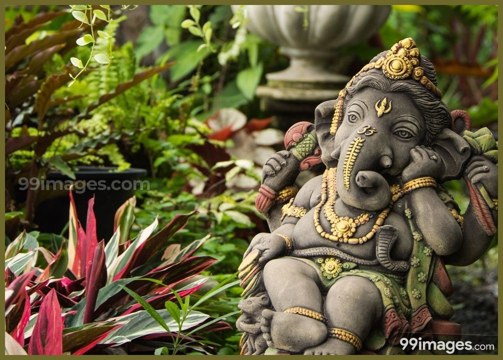 Lord Ganesha Hd Wallpapers Images 1080p 7038 Lordganesha Pillaiyar Vinayagar Ganeshan God Hindu Ganesh Statue Ganesh Images Lord Ganesha