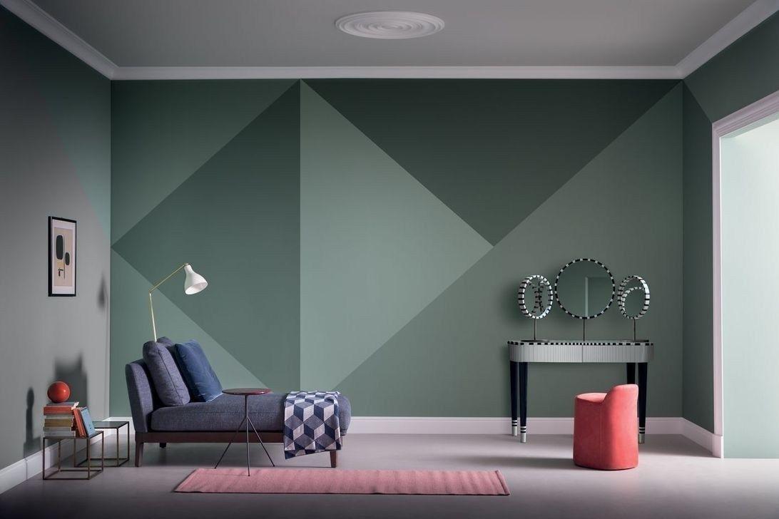 имеет покраска стен в два цвета дизайн фото образовано оно слова
