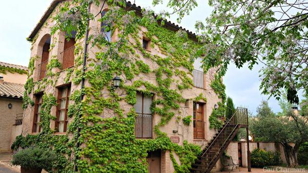 Molí de Siurana. Hoteles con encanto. Ruralka. Siurana d'Empordà. Costa Brava. Girona. Lugares con encanto. www.caucharmant.com
