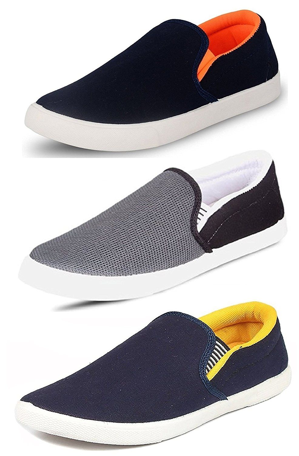 a04eb4e56 Tempo Men s Combo Pack Of 3 Synthetic Loafers Shoes - Multicolour 1000 Rs.
