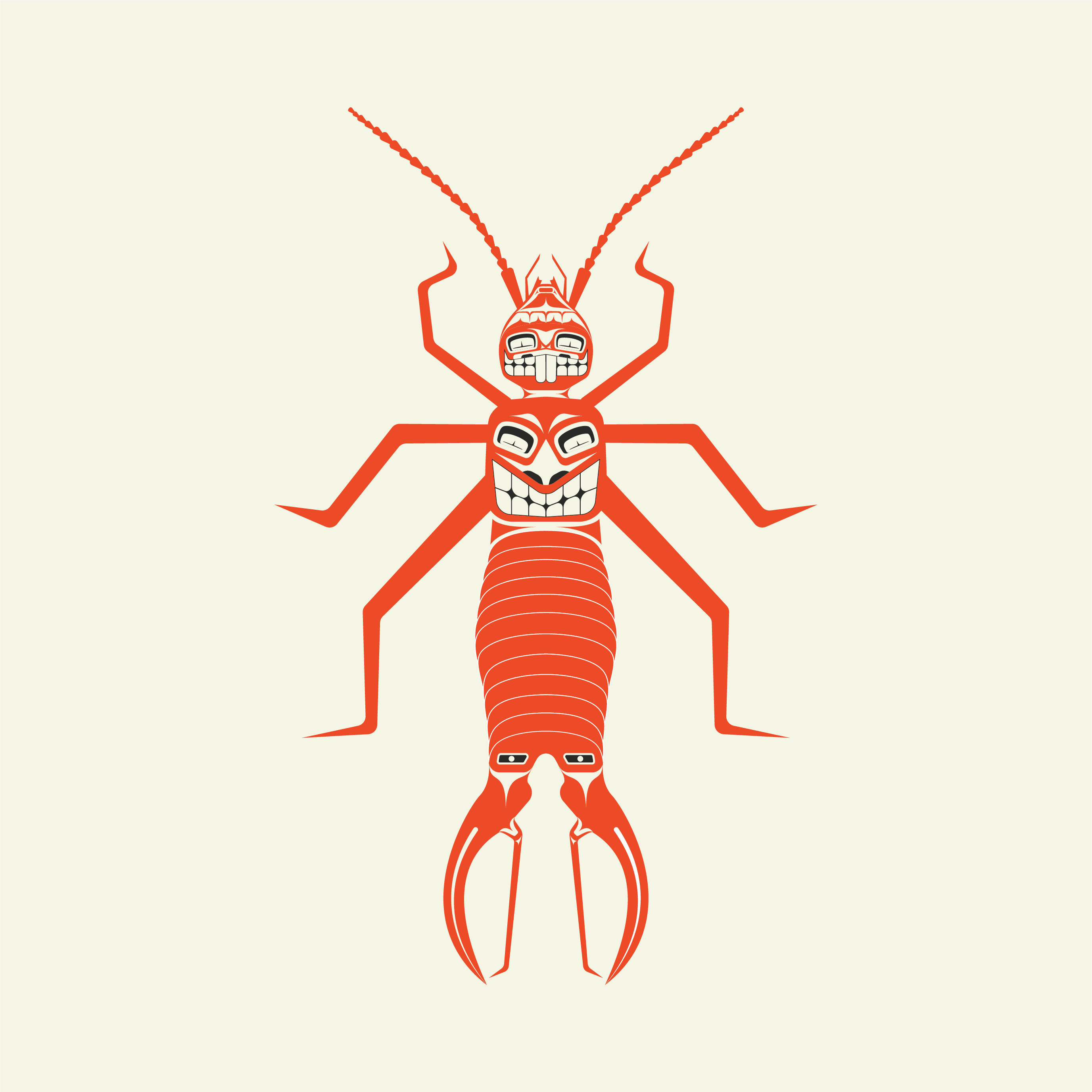 Earwig By Brian W Pnw Native American Art