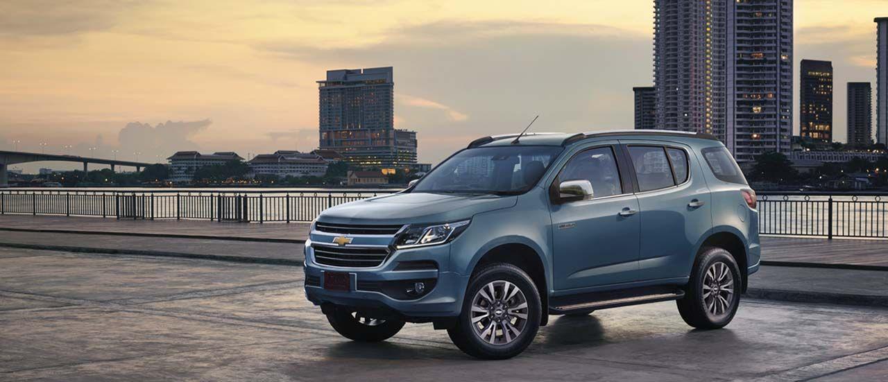 Gia Xe Chevrolet Trailblazer Xe Suv May Dầu Mới 2017 4x4 Xe Ban Tải Va Tủ đong
