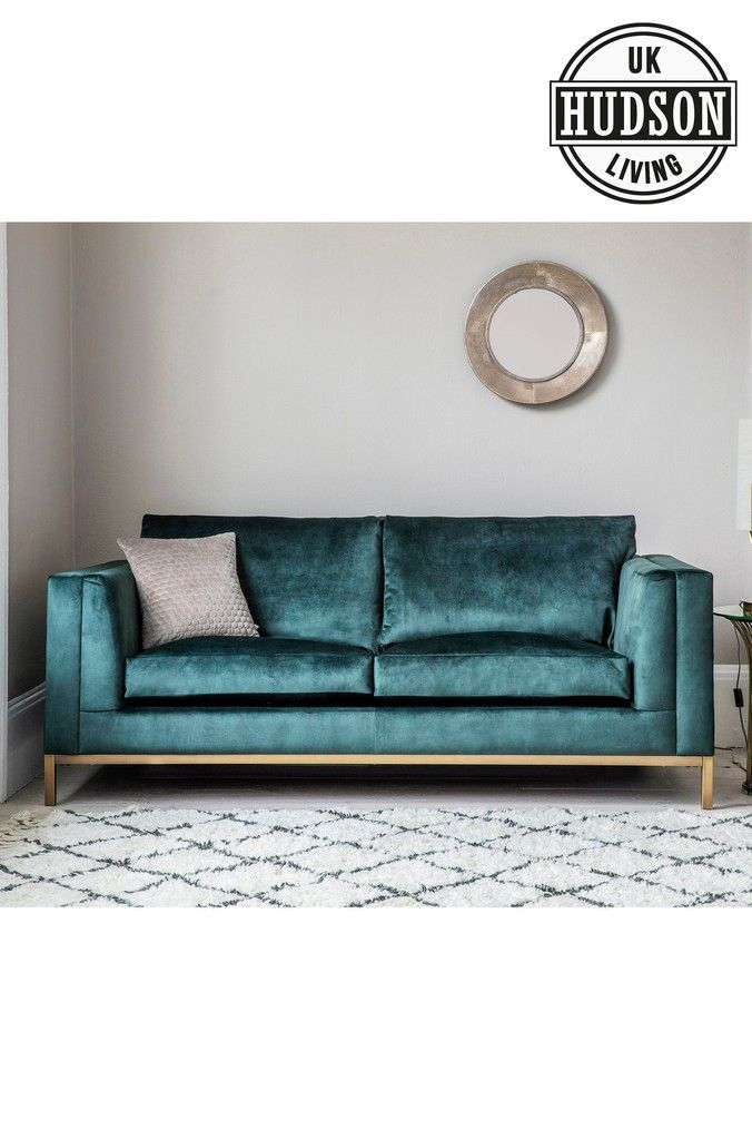 Treyfrod Sofa Bed By Hudson Living Teal Sofa Next Sofa Small Sofa
