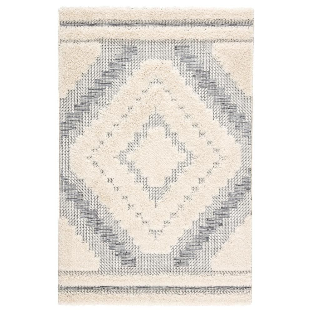 Jaipur Living Parades Geometric 8 Ft 9 In X 12 Ft 5 In Gray Area Rug Gray Ivory Southwestern Area Rugs Outdoor Rugs Patio Outdoor Rugs