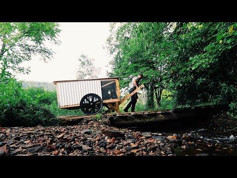 DIY Mobile Chicken Coop PLANS ChickShaw 2 0 by Justin Rhodes