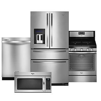 Whirlpool Kitchen Suite Whirlpool whirlpool gas 4 piece kitchen suite stainless steel our whirlpool whirlpool gas 4 piece kitchen suite stainless steel workwithnaturefo