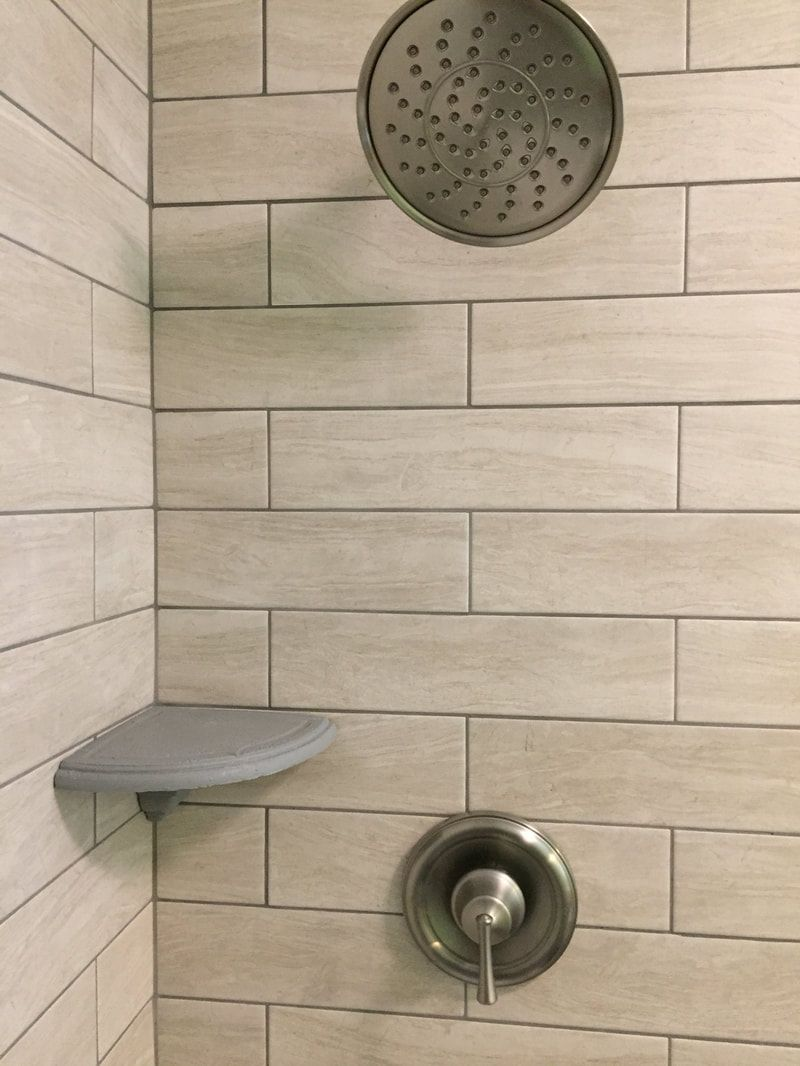 Add On Shower Corner Shampoo Shelf Soap Dish Caddy Add On