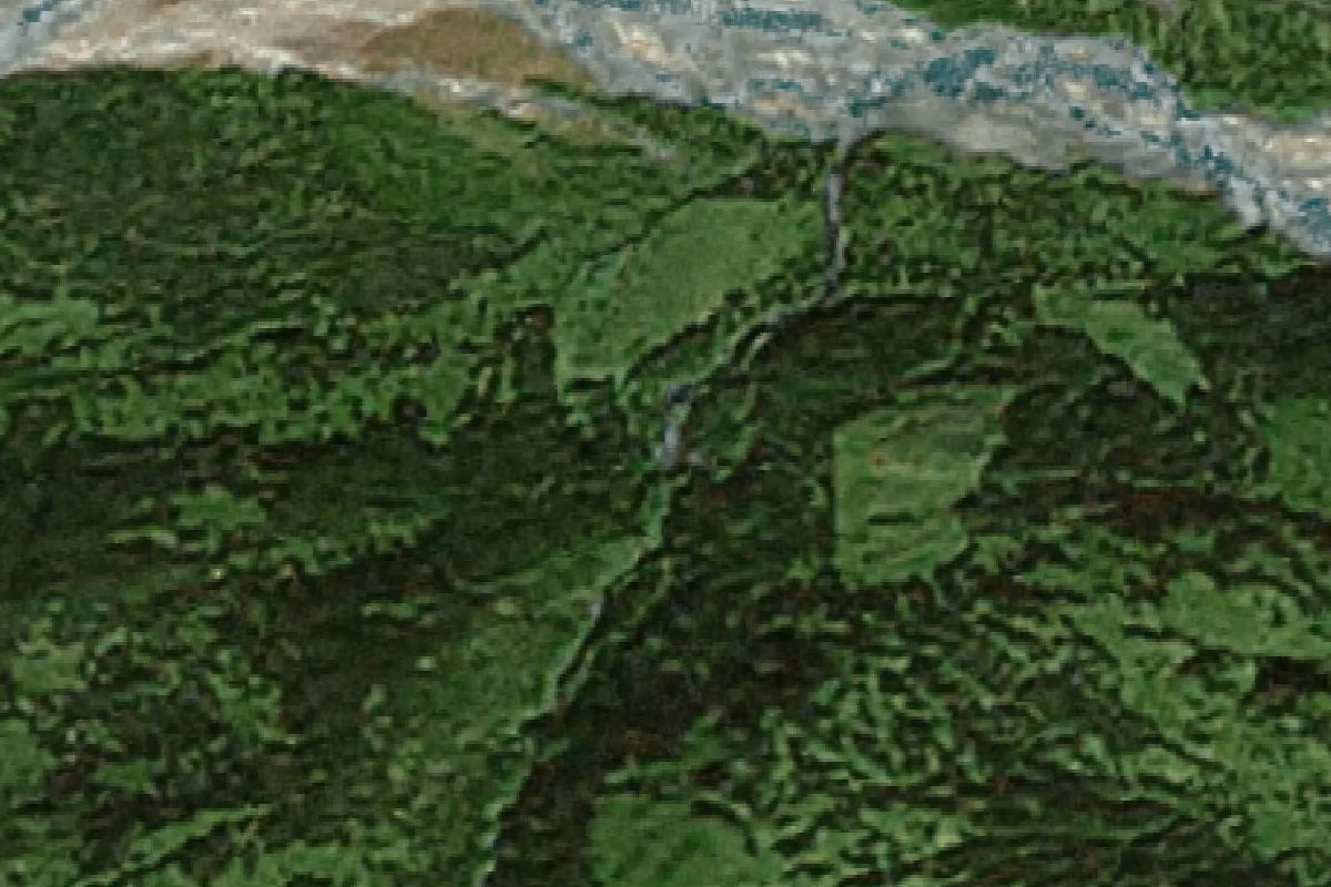 Alaska haines county - Satellite Map View Of The Big Nugget Mine In Haines Alaska