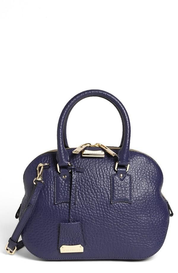 c5e10a589d13 Burberry Small Satchel in Blue - available through Nordstrom