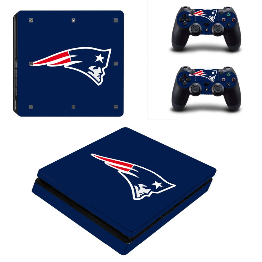 Click To Buy Nfl New England Patriots Ps4 Slim Skin Sticker Decal For Sony Ps4 Playstation 4 Slim Console And 2 Controllers Stickers Affiliate