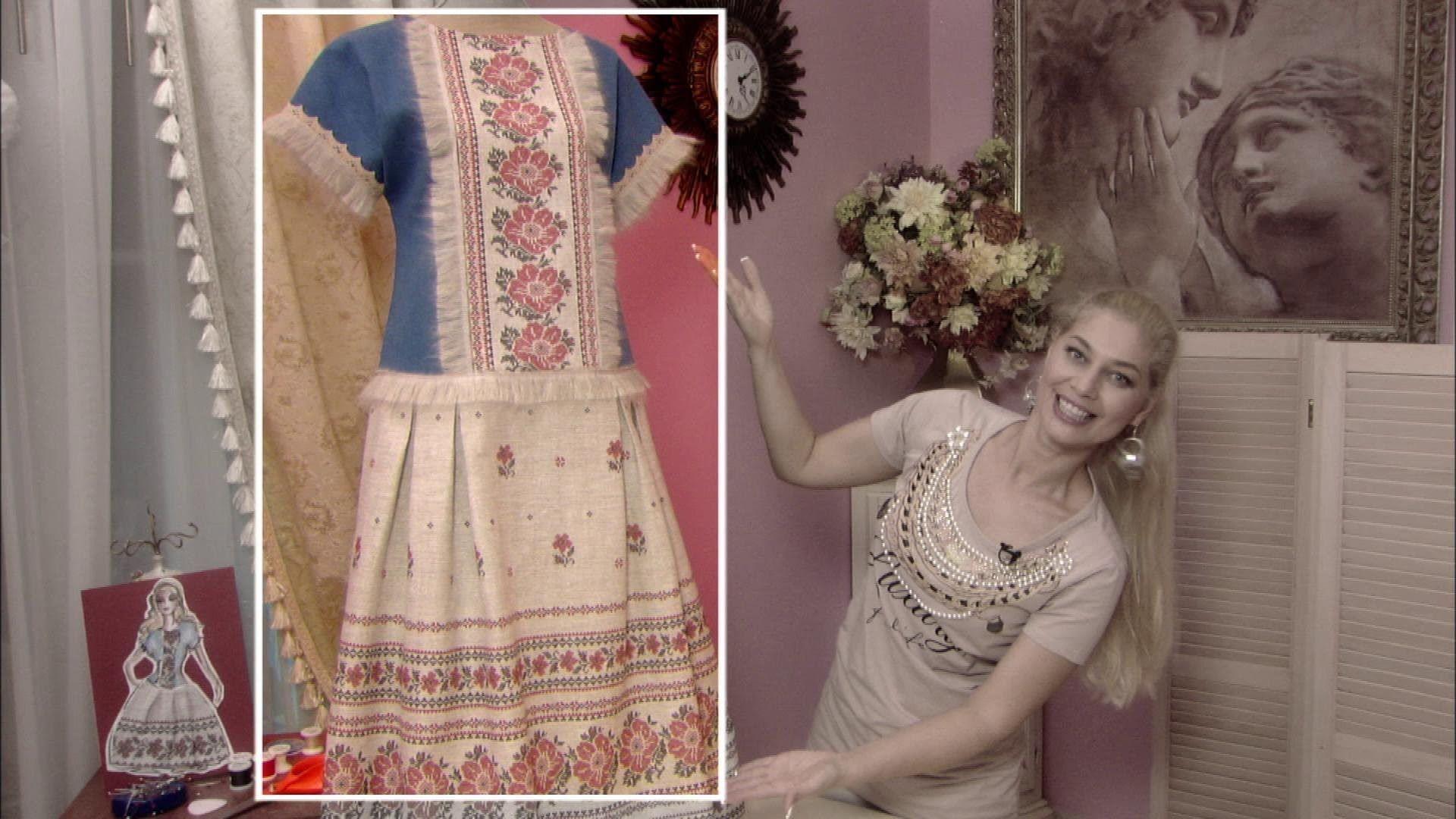 Сшить платье с ольгой никишичевой для полных 143