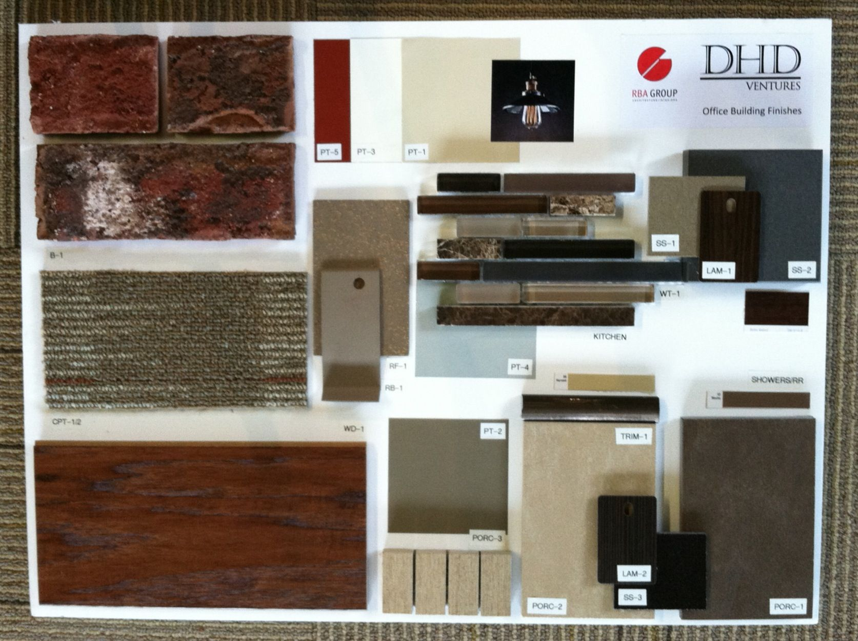 My Latest Interior Design Board Created For A Retrofitted Volunteer Fire Department On Carmel Rd Charlotte NC New Owners Grocer Retail Parcel