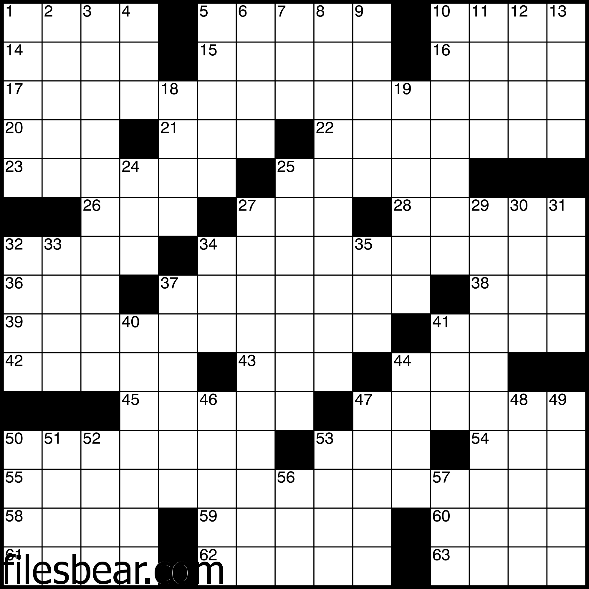 Pin By Files Bear On Free Windows Games Crossword Puzzles Free