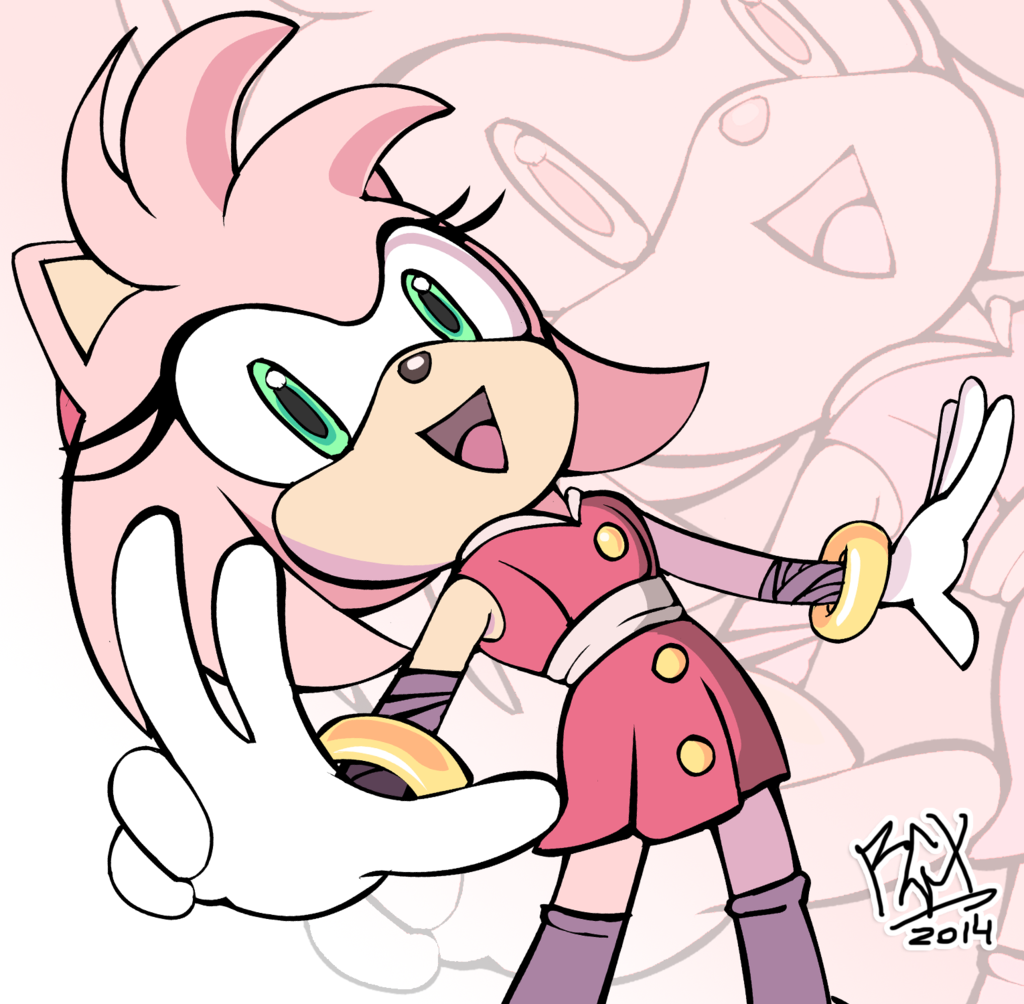 Sonic Boom Amy By Rgxsupersonic Deviantart Com On Deviantart Sonic Boom Amy Sonic Amy Rose
