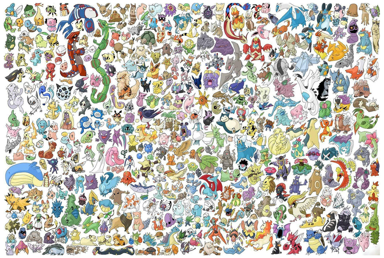 Pokemon Characters 18 X 24 Doormat Welcome Floormat Cool Pokemon Wallpapers Pikachu Wallpaper Character Wallpaper