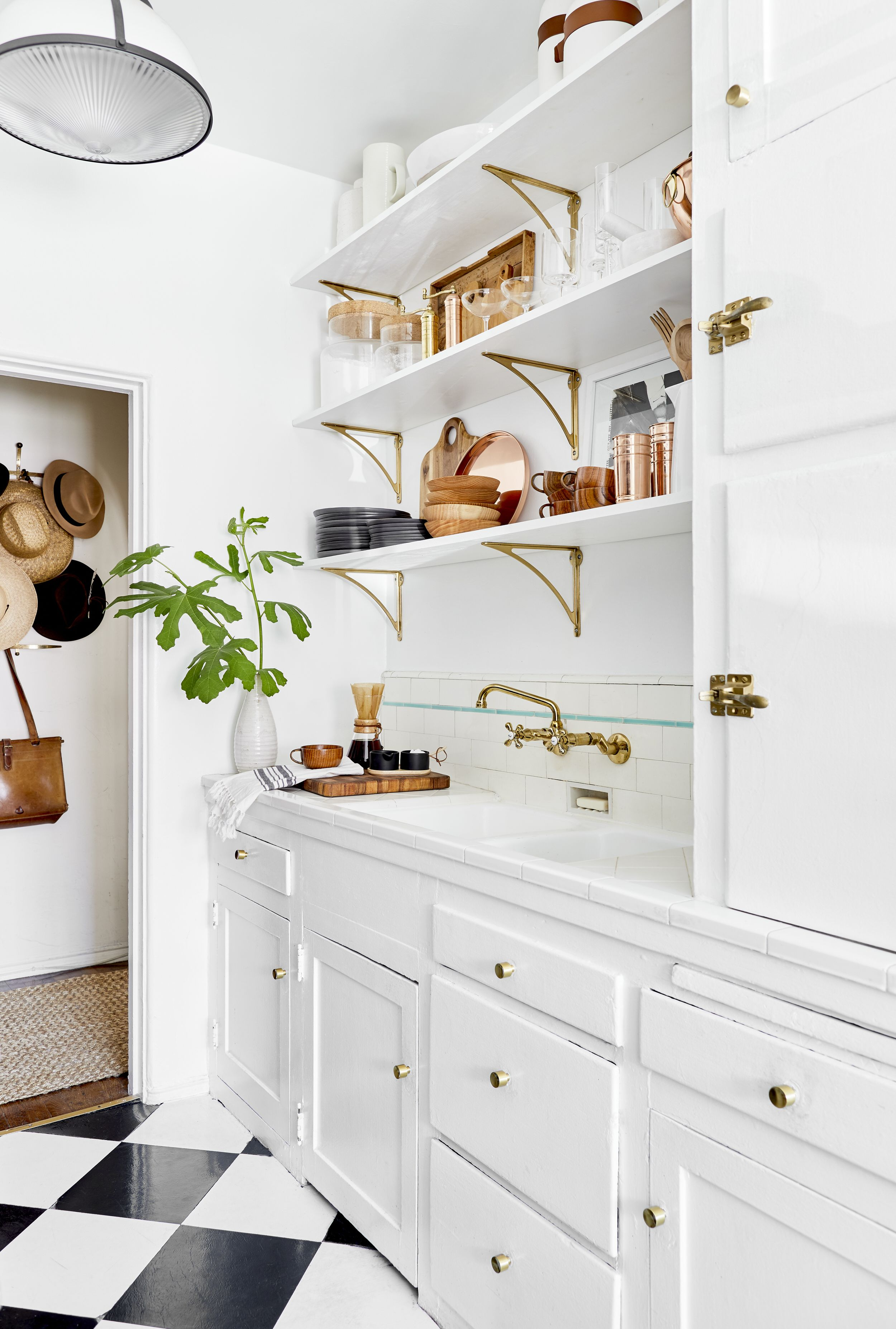 How To Style Open Shelving In Your Kitchen Using All My