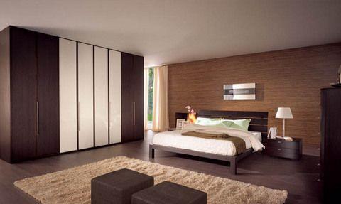 Risultati immagini per camere da letto con parquet scuro for Camere da letto moderne colore olmo
