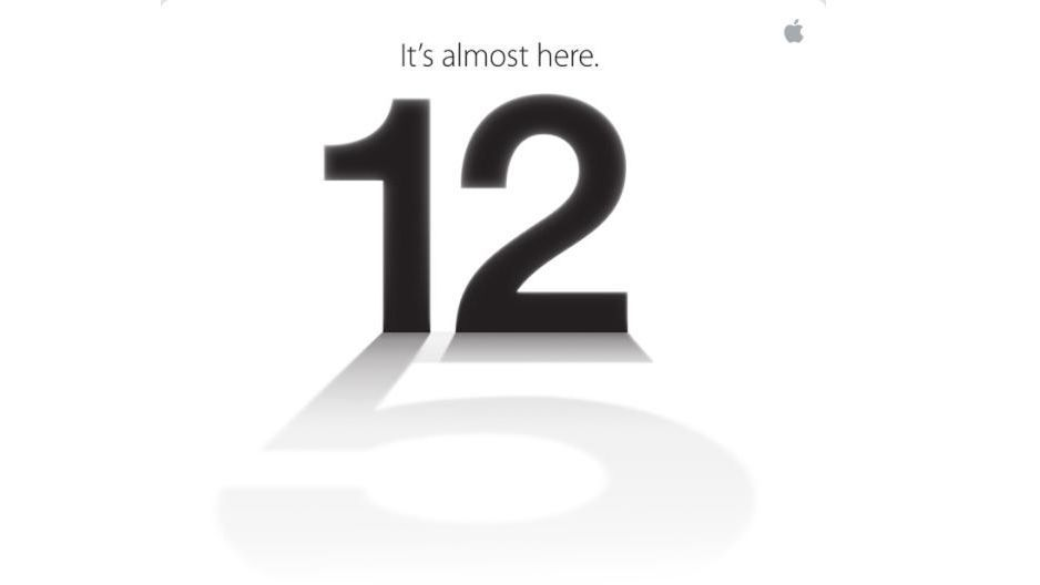 New iPhone 5 press conference confirmed as September 12
