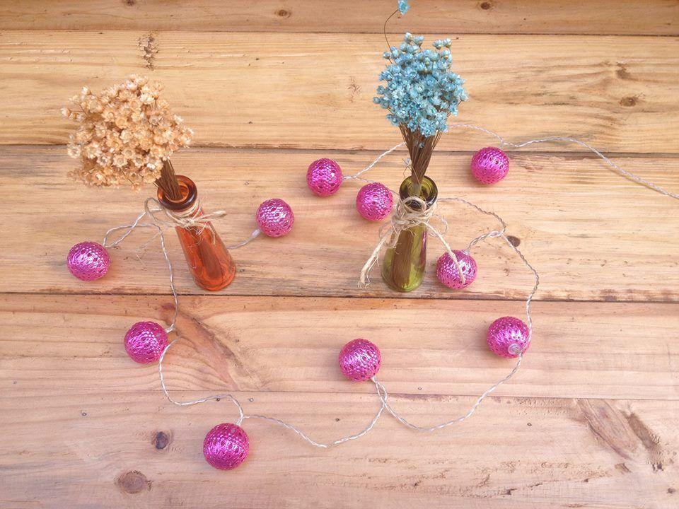Vasinhos para enfeite de mesa festa noivado