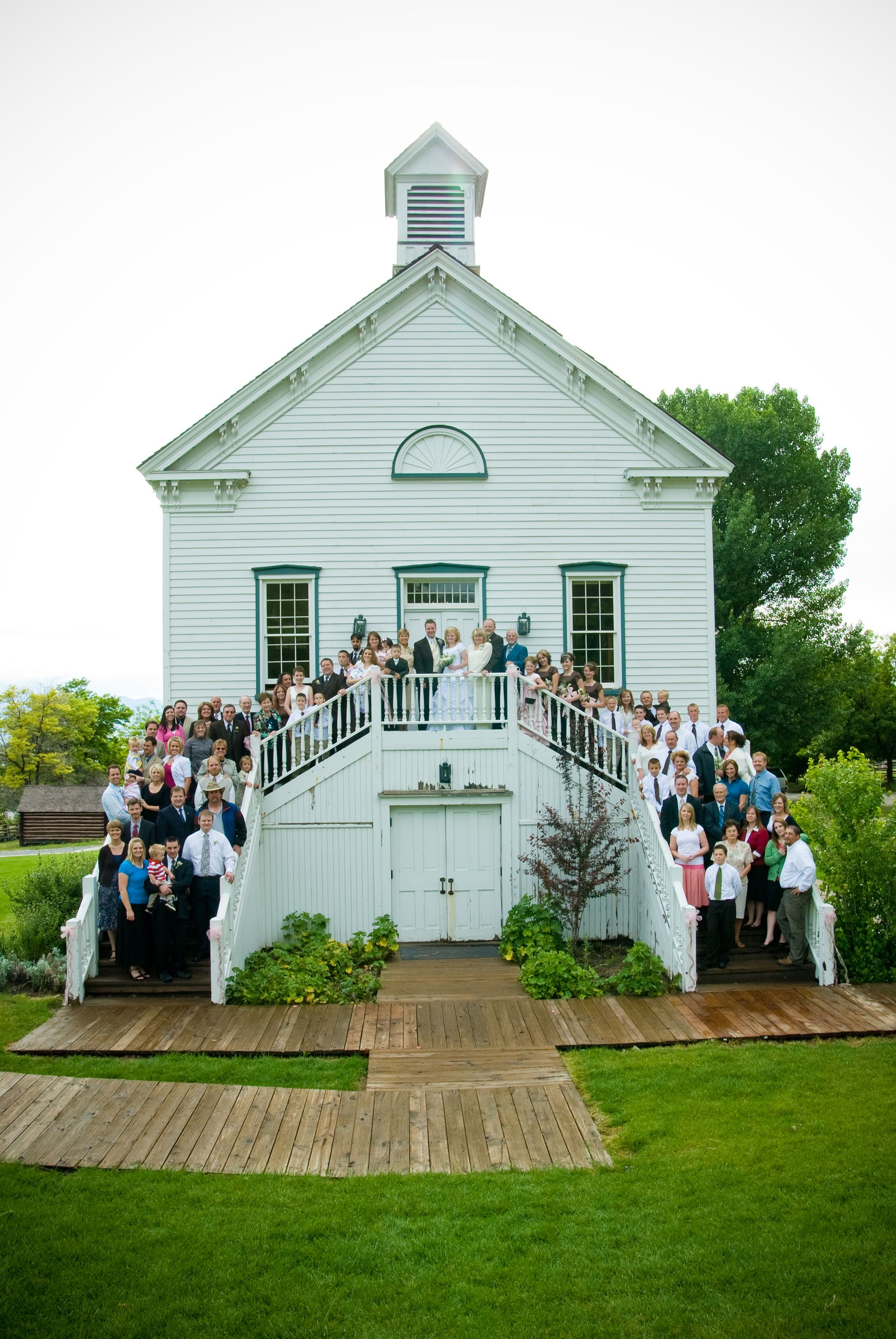 Pine Valley Chapel Wedding Weddings At This Is The Place Heritage Park 8019247507 Utahweddingvenue Thisistheplace Wedding Venues Utah Chapel Wedding Chapel