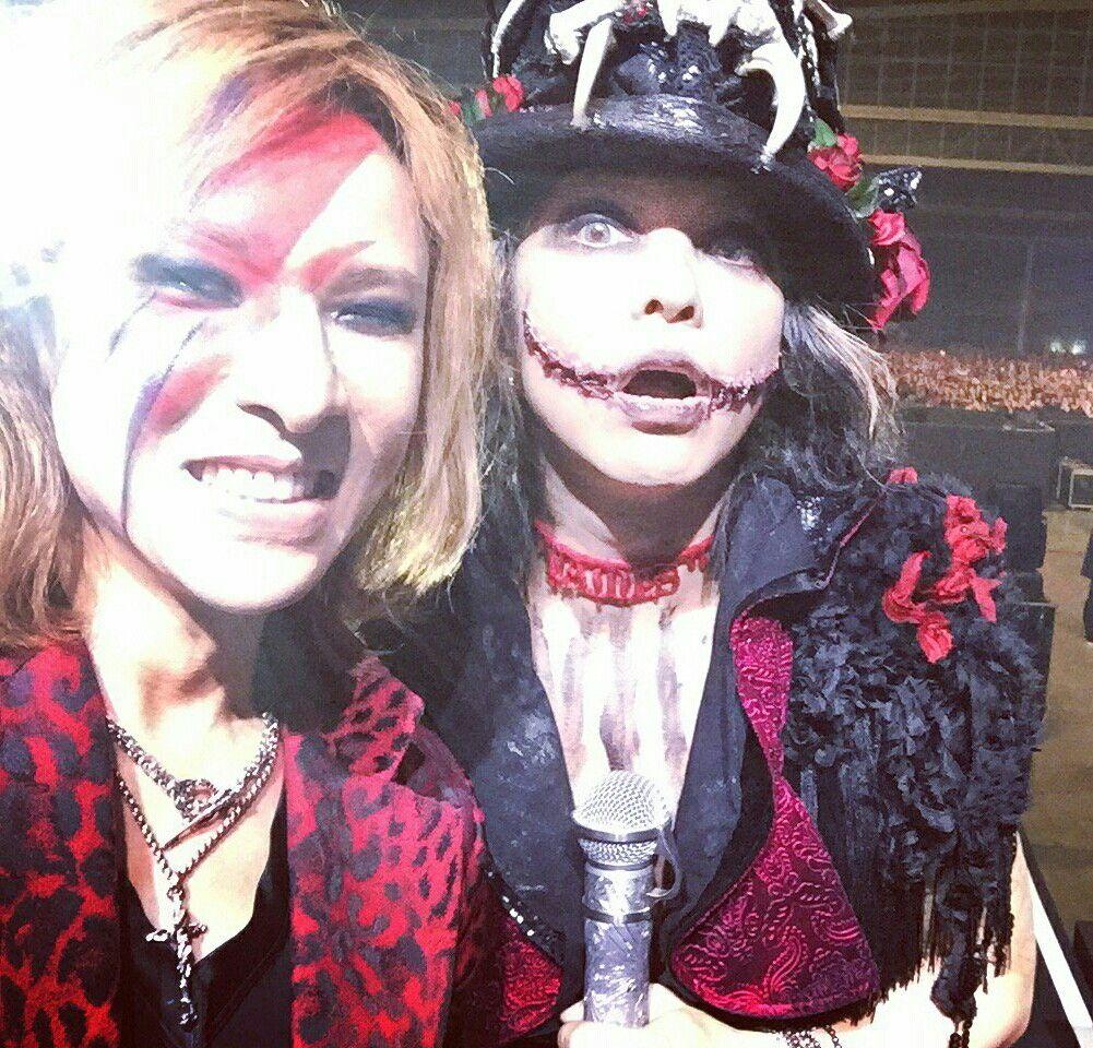 Hyde x Yoshiki VAMPS Halloween Party 2016