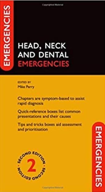 Head, Neck and Dental Emergencies 2nd Edition PDF Free