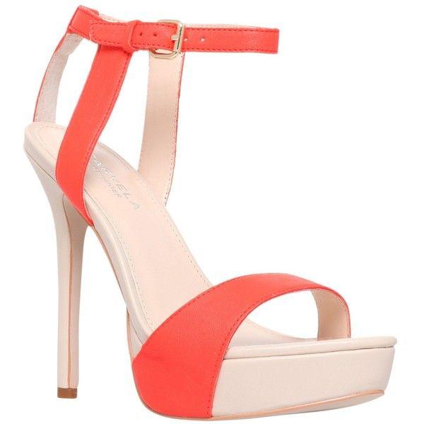 CarvelaHigh heeled sandals - orange TZGBx