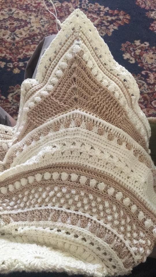 Snow drop afghan | Crochet | Pinterest