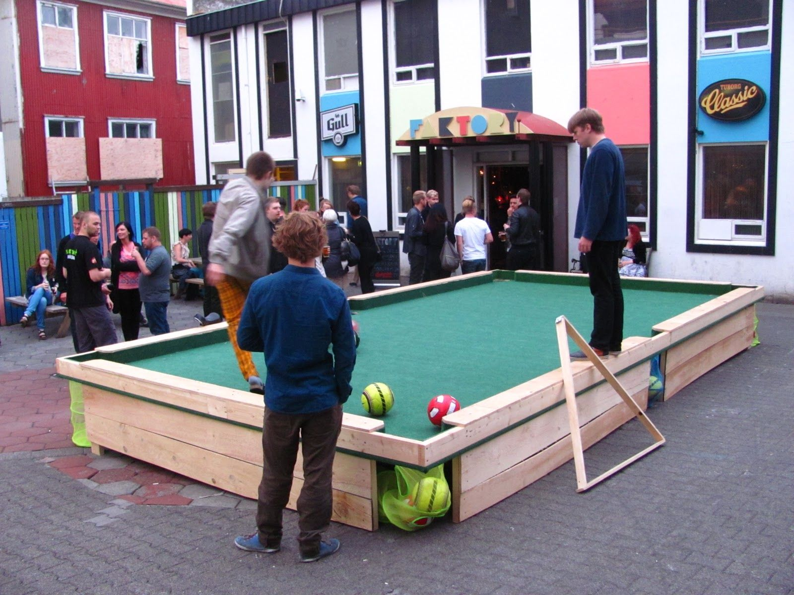 Lifesize pool! Outdoor games, Life size games, Outdoor