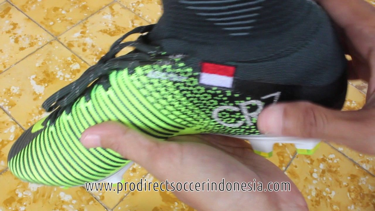 half off 71e69 84141 Sepatu Bola Nike Mercurial Superfly V CR7 FG Seaweed 852511 ...