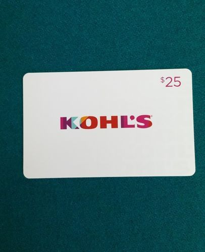 Coupons Giftcards Kohl S Gift Card 25 Coupons Giftcards Gift Card Cards Gift Coupons