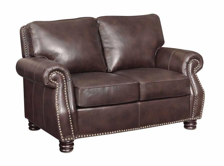 Astounding Clearance 50 Off Special Order Briscoe Leather Loveseat New Cjindustries Chair Design For Home Cjindustriesco
