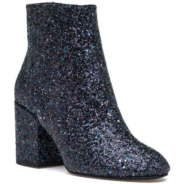 912e020f1649 ASH Egoiste Midnight Glitter Boot (60 KWD) ❤ liked on Polyvore featuring  shoes