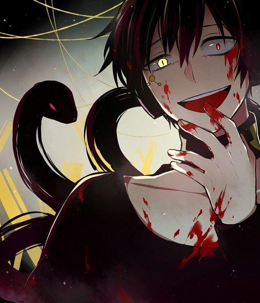 Dark Konoha 1583573 Zerochan Yandere Anime Anime Anime Boy