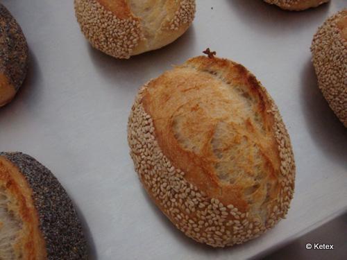 Mohn- und Sesambrötchen » Ketex -Der Hobbybrotbäcker-