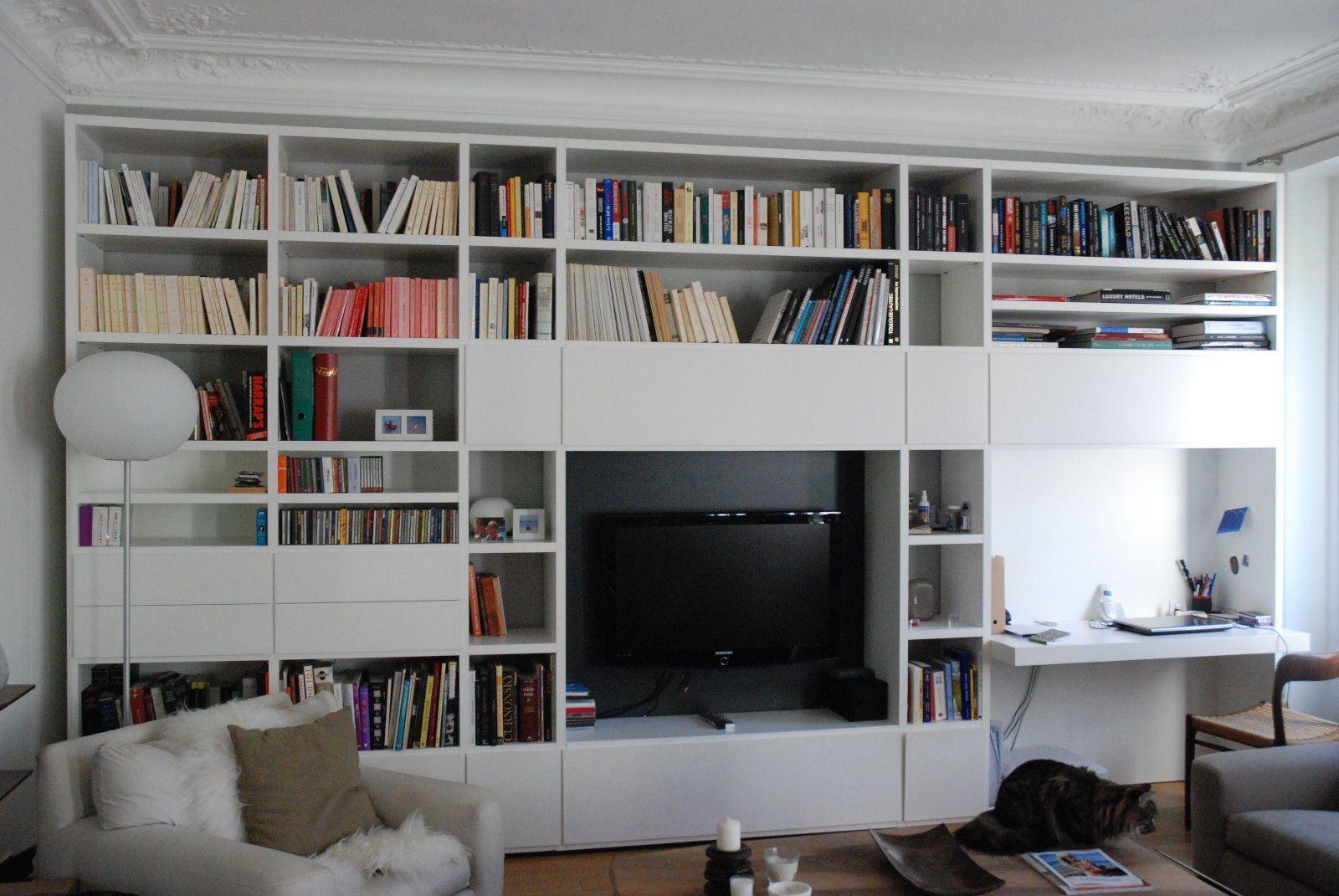 Meuble Tv Bibliothèque Blanc Épinglé sur Ірина