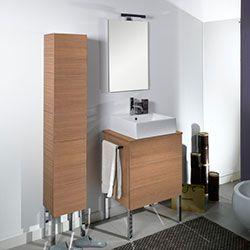 """23.6"""" Nameeks Iotti Time NT8 Bathroom Vanity #BathroomRemodel #BlondyBathHome #BathroomVanity  #ModernVanity"""