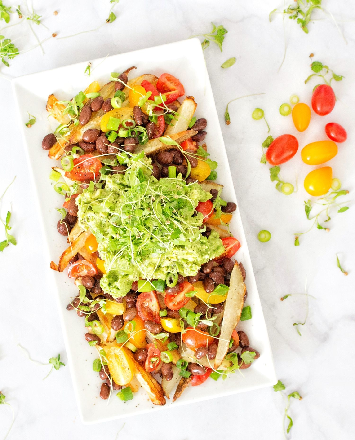 Vegan mexican loaded french fries chips fries and kale vegan mexican loaded french fries forumfinder Images