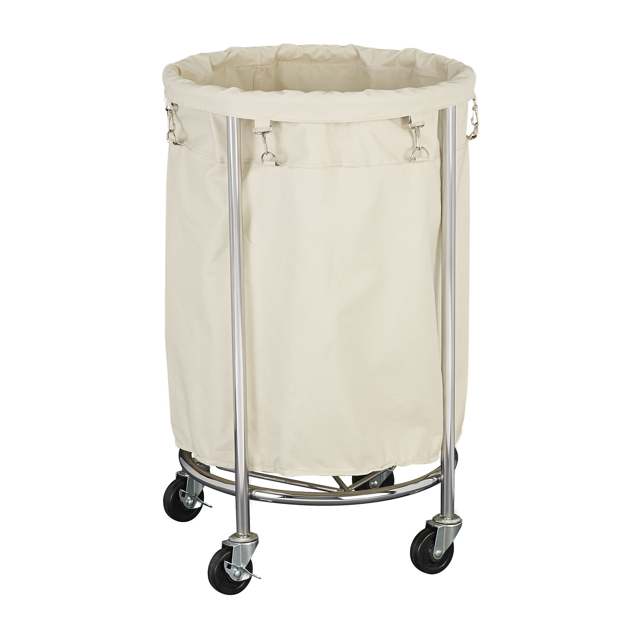 Household Essentials Commercial Round Laundry Hamper Laundry