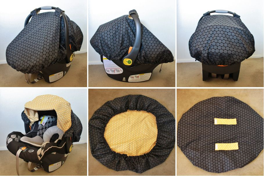 Diy Car Seat Cover, Car Seat Cover Pattern With Elastic