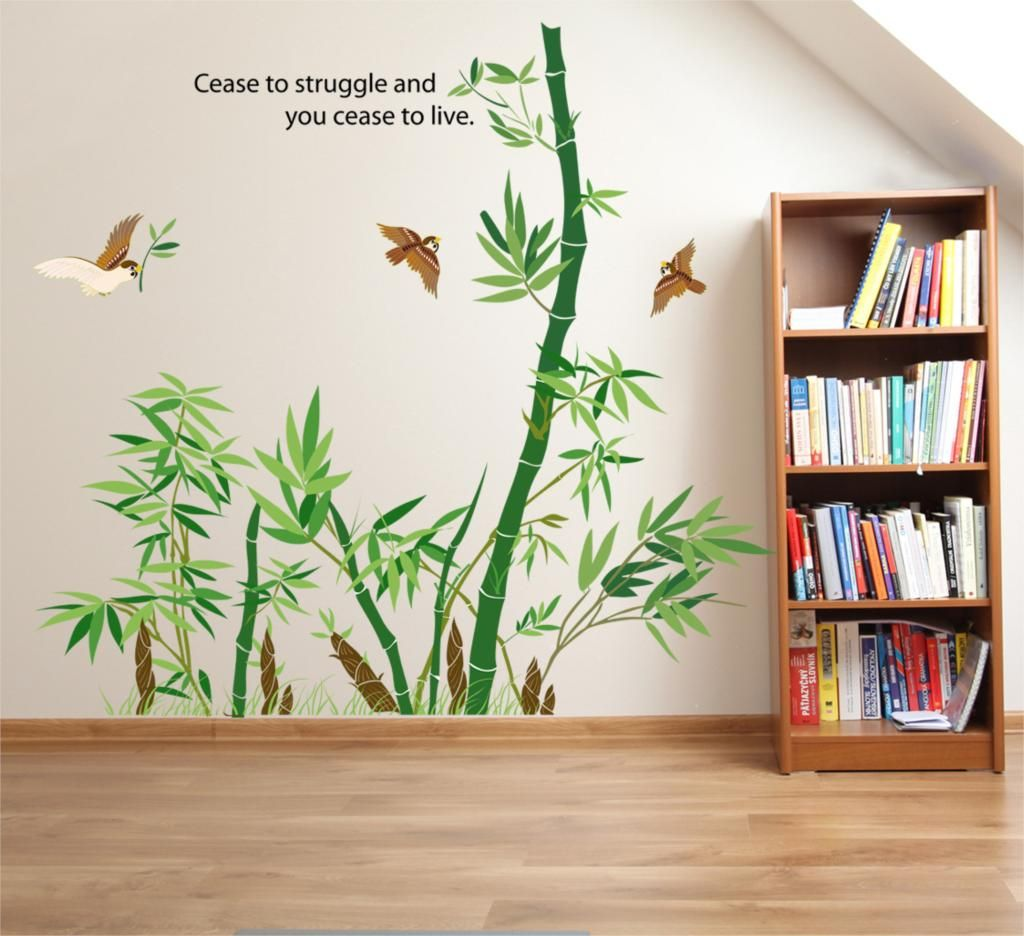 Bamboo wall sticker vinyl wall stickers for kids rooms home decor bamboo wall sticker vinyl wall stickers for kids rooms home decor bathroom sofa wall decals adesivo de parede hot sale bambo stickers pinterest bamboo amipublicfo Images