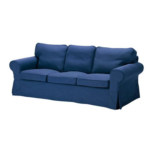 EKTORP Threeseat sofa Blekinge white Sofa slipcovers Ektorp sofa