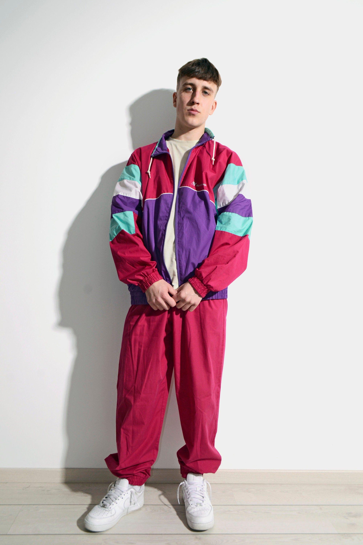 Pin On 90s Fashion Outfits 80s Vintage Sportswear Men