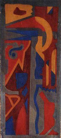 "Julius Evola, ""Composizione Dada,"" 1920"