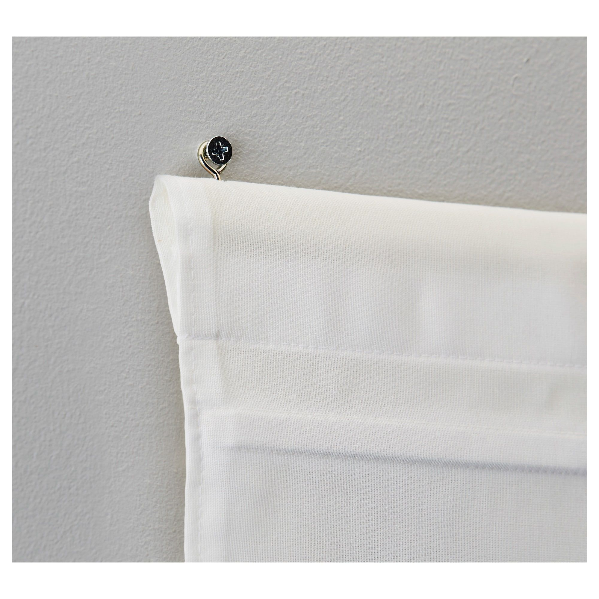 Store Bateau Blanc Ikea ikea - ringblomma roman blind white | blind, rideaux