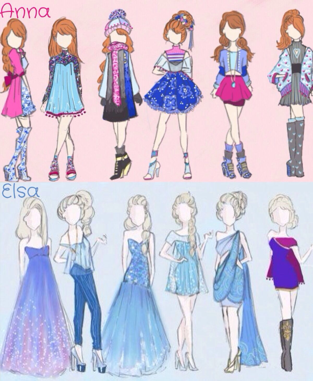 This Is The Picture I Used To Draw The Elsa One I Might Do Anna I Don 39 T Know Should I